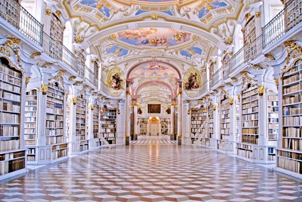 Biblioteca de la Abadía de Admont Estiria Austria